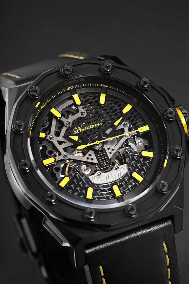 Sandman Boneyard and Yellow Strap Skeleton Movement