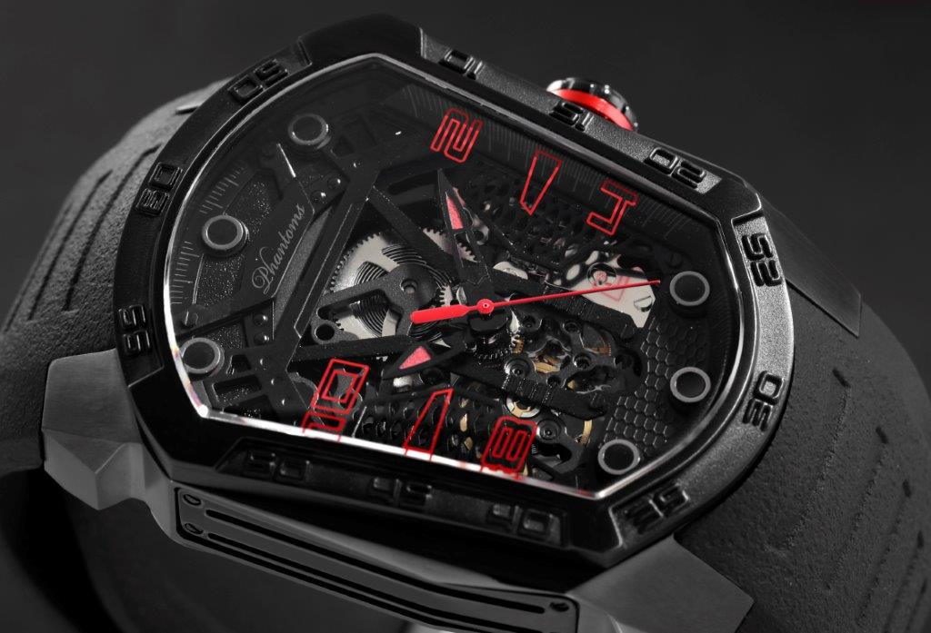 Blade Automatic Mechanical Watch Futuristic Mens Watch Best Microbrand